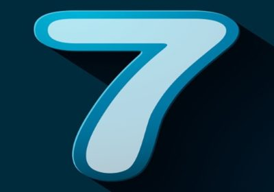Estudio de los números y decodificación actualizada: El siete