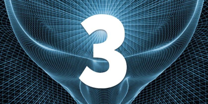 Estudio de los números y decodificación actualizada: El Tres